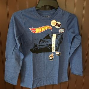 NWT Long sleeve Hot Wheels shirt
